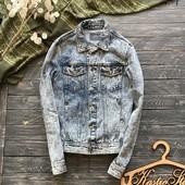 Стильная мужская джинсовая куртка Topman р-р С