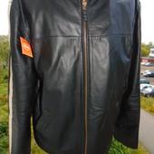 Брендовая кожаная стильная  курточка Next л-хл .