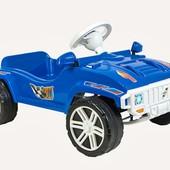 Педальная Машинка синяя Орион 792 машина с педалями
