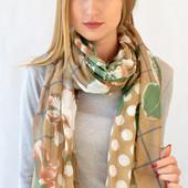 Стильные осенние шарфы,6 расцветок