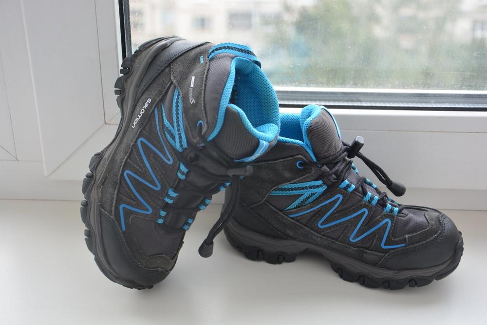 Бронь детские зимние ботинки salomon climashield waterproof 7453e63038ca5