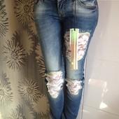 Брендовые  джинсы  A.M.N маdness national lorseas