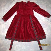 Бархатное платье Palomino