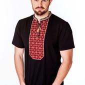 Вишиванка вишита чоловіча футболка
