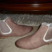 Бомбезные мягкие бренд.ботинки-челси Cadoro Venezia,полн.Кожа,Италия