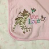 Плед, одеялко для маленькой девочки george (disney)