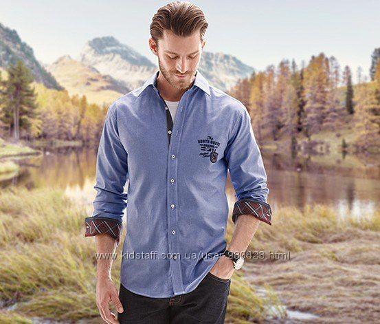 Рубашка под джинс.ТСМ.Германия.размер 41-42 фото №1