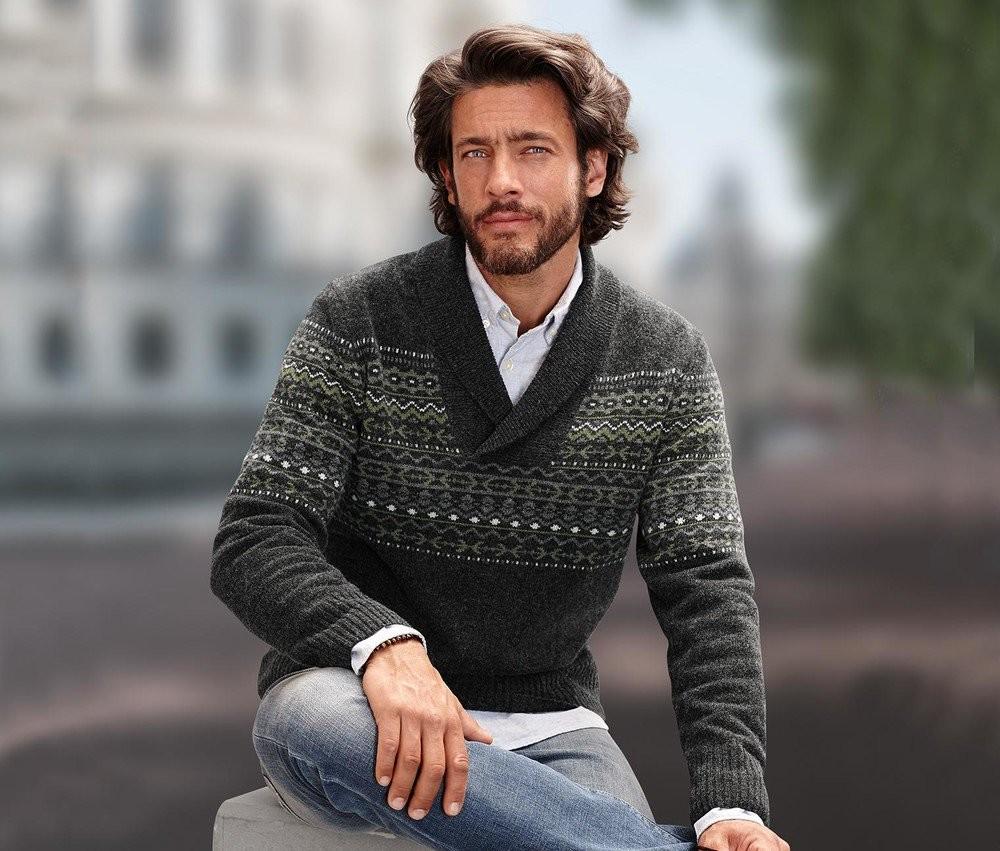 Теплый свитер с шерстью.ТСМ.Германия фото №1