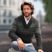 теплый свитер с шерстью.ТСМ.Германия.