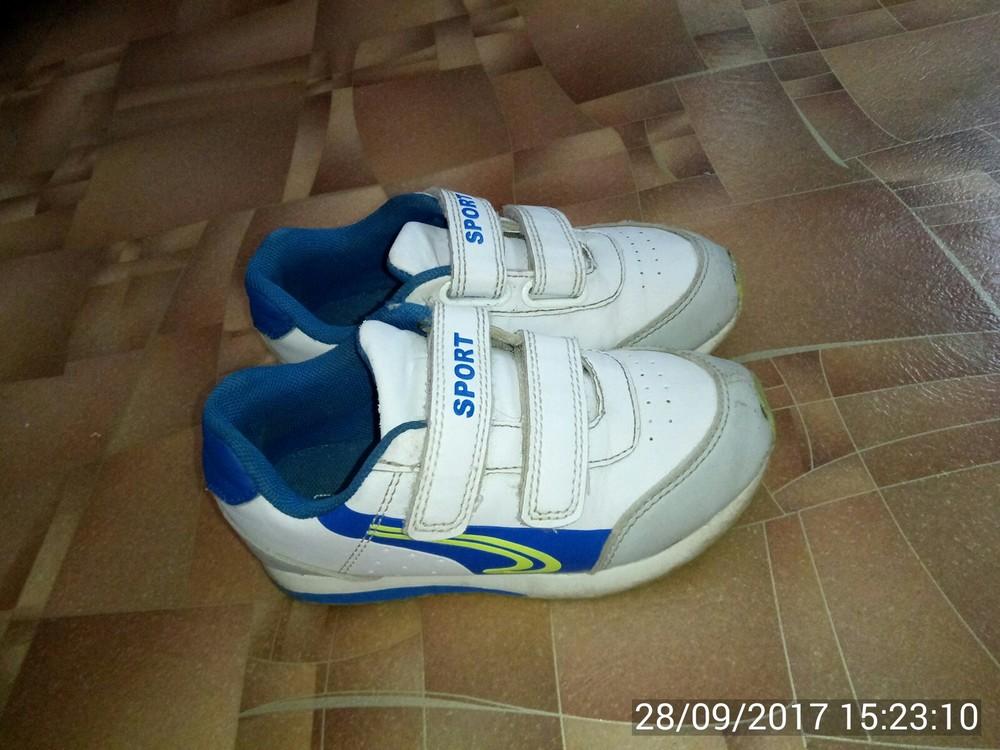 Продам кроссовки р. 28 (17,5 см). фото №1