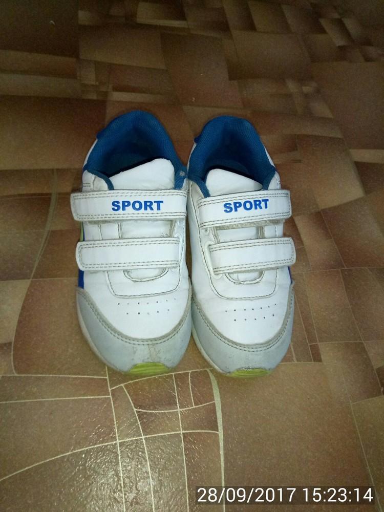 Продам кроссовки р. 28 (17,5 см). фото №2