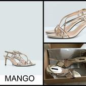Mango.новые.босоножки на каблуке.