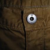 Мужские штаны рыжие с лямками G-Star р34 пояс 45 см
