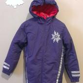 новая демисезонная евро-зима термо-куртка, р.152-162
