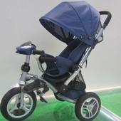 Детский трехколесный велосипед  (TR17003) с подножкой