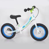 Детский беговел 12 B-5 Air wheels роз и син
