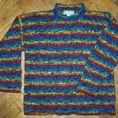 шерстяной свитер Allen Blueprint, Nepal, ручная вязка.