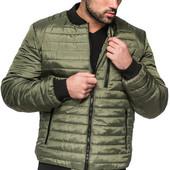 Укороченная мужская куртка. Демисезон