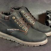 Качественные кожаные зимние мужские ботинки. Удобная посадка , теплые и ноские в наличии