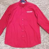 Новая рубашка,но без бирки. Замеры: дл.рукава-63см.Дл.рубашки-81см.Ширина плеч-60,5см.