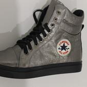 Стильные высокие кеды-ботинки, с 36-40р.