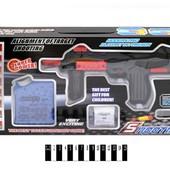 Автомат с водными геливыми пульками и парролоновыми XH028 игрушечное оружие