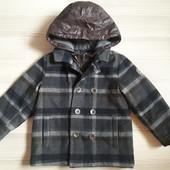 Теплое пальто Chicco 3-4г 104см