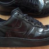 Кожаные кроссовки Nike Air Force 1 оригинал р.42-27см.
