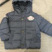 Зимняя куртка Benetton 2Y (90см) 2-3 года