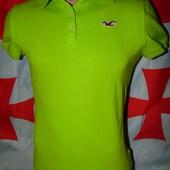 Брендовая стильная тениска поло футболка Hollister (Холлистер) л- м