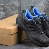 Ботинки мужские Merrell black/blue, термо
