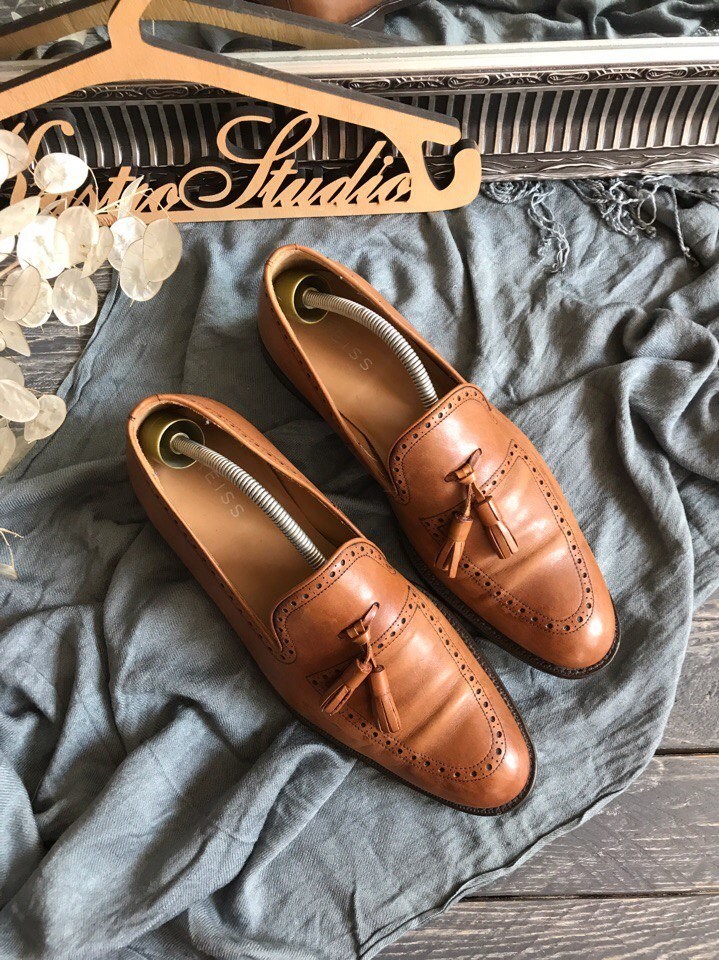 Стильные туфли лоферы reiss p-p 42 фото №1