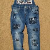 Комбинезон джинсовый raw denim  размер M