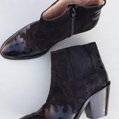 Новые женские ботинки,ботильоны ,бренд San Marina,кожаные, замшевые,37 р