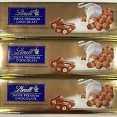 Швейцарский шоколад Lindt swiss premium 300g с орехом