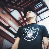 Футболка Oakland Raiders, Black