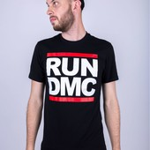 Футболка Run Dmc, Black