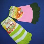 Носочки з пальчиками на 4-6 років.  Лот 2 пари