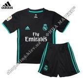 Детская форма Реал Мадрид 2017-2018 Adidas выездная (2302)