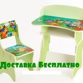 Детская парта со стульчиком Смешарики