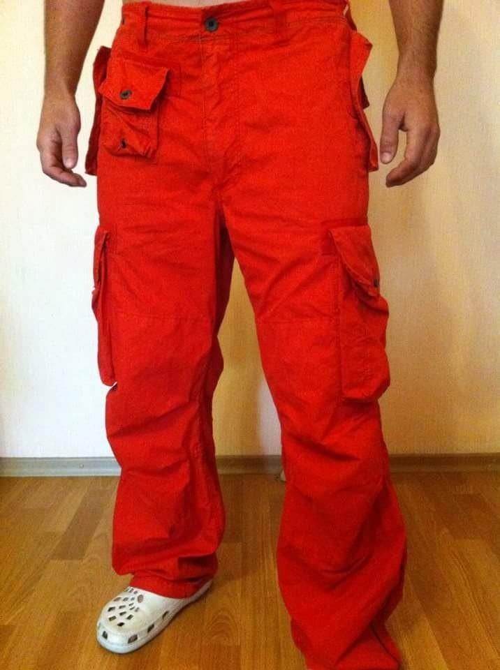 Практичные штаны с карманами Polo (32-32) фото №1