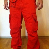 Практичные штаны с карманами Polo (32-32)