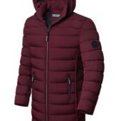 Утепленная зимняя мужская куртка