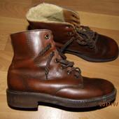 (i233)зимние кожаные ботинки 41 р Германия