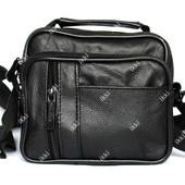Мужская барсетка - сумка через плечо компактная (6686-1)
