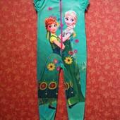 5-6 лет Человечек-пижама Frozen (холодное сердце) Анна, Эльза, Disney, George
