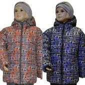 Куртка Dominik, зимняя -20С на флисе, р. 98,104,110, код UCH-1110