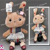 Мягкая игрушка Зайчик - Кролик, 046-4, 38 см