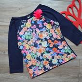 Реглан с цветами TU (3-4 года)