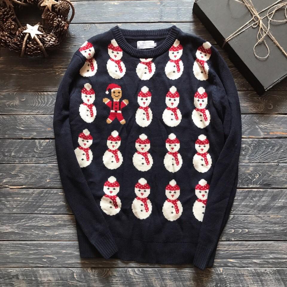 Мужской новогодний свитер tu р-р хл фото №1
